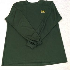 Other - Under Armor men's XL green L sleeve polyester T